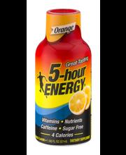 5-Hour Energy Dietary Supplement Orange