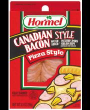 HORMEL Canadian Style Pizza Style Bacon 3.5 OZ PEG