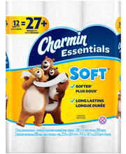 Charmin Essentials Soft™ 2-Ply Giant Toilet Paper Rolls 12 ct...