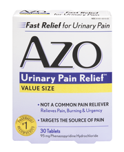 AZO Urinary Pain Relief Value Size - 30 CT