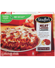 STOUFFER'S Large Family Size Meat Lovers Lasagna 57 oz. Box