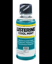Listerine® Cool Mint® Antiseptic Mouthwash 3.2 oz Plastic Bottle