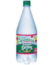 Poland Spring® Sparkling Raspberry Lime Natural Spring Water ...