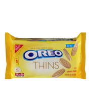 Nabisco Oreo Thins Golden Sandwich Cookies 10.1 oz. Tray