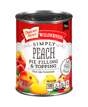 Duncan Hines® Wilderness® Simply Peach Pie Filling & Topping ...
