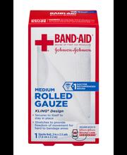 Johnson & JohnsonFirst Aid 3 in. x 2.5 yd. Medium Rolled Gauz...