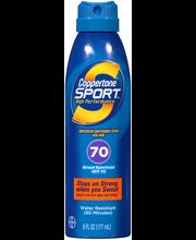 Coppertone® Sport® Broad Spectrum SPF 70 Sunscreen Spray 6 fl...