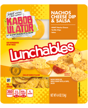 Lunchables Nachos Cheese Dip & Salsa Lunch Combinations 4.4 o...