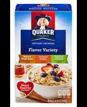 Quaker® Maple & Brown Sugar/Cinnamon & Spice/Apples & Cinnamo...