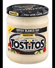 Tostitos® Queso Blanco Medium Dip 15 oz. Jar