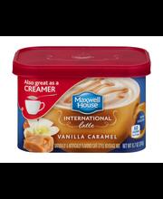 Maxwell House International Vanilla Caramel Latte Cafe-Style ...