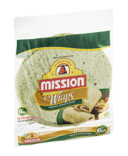 Mission® Wraps™ Garden Spinach Herb 6 ct Bag