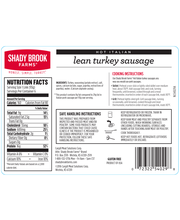 Shady Brook Farms Fresh Italian Turkey Sausage (1.25 lbs)