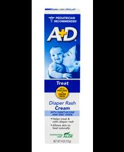 A+D® Diaper Rash Cream 4 oz. Box