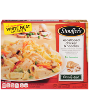 STOUFFER'S Family Size Escalloped Chicken & Noodles 40 oz. Box