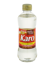 Karo Light W/Real Vanilla Corn Syrup 16 Oz Squeeze Bottle