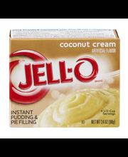 Jell-O® Coconut Cream Instant Pudding & Pie Filling Mix 3.4 o...