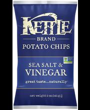Kettle Brand® Sea Salt & Vinegar Potato Chips 5 oz. Bag
