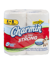Ultra Strong Charmin Ultra Strong Toilet Paper 4 Double Rolls