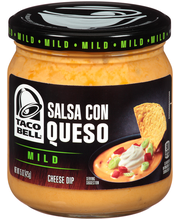 Taco Bell® Mild Salsa con Queso Cheese Dip 15 oz. Jar
