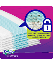 Swiffer® Wet Jet™ Extra Power™ Mopping Pad Refills 10 ct Box