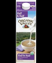 Organic Valley® Organic Half & Half 32 fl. oz. Carton