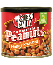 Wf Honey Roast Peanuts Can