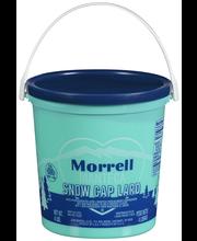 Morrell Snow Cap® Lard 4 lb. Pail
