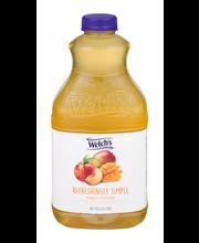 Welch's® Refreshingly Simple™ Peach Mango Flavored Juice Beve...