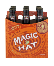 Magic Hat #9 Beer Bottles - 6 CT