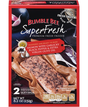 Bumble Bee SuperFresh® Salmon With Garlicky Black Pepper & Ex...