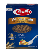 Barilla® Whole Grain Rotini 13.25 oz. Box