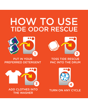 Tide® Odor Rescue™ with Febreze™ Odor Defense™ Laundry Scent ...