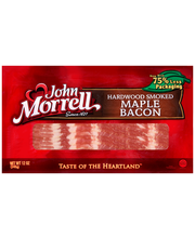 John Morrell® Hardwood Smoked Maple Bacon 12 oz. Pack