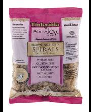 Tinkyada Pasta Joy Ready Brown Rice Pasta Spirals with Rice Bran