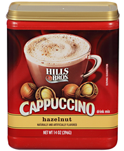 Hills Bros.® Hazelnut Cappuccino Style Drink Mix 14 oz. Canister