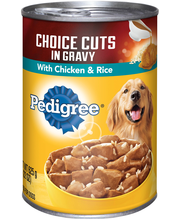 Pedigree® Choice Cuts® in Gravy with Chicken & Rice Wet Dog F...