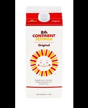 8th Continent® Original Soymilk 0.5 gal. Carton