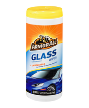 Armor All Glass Wipes - 25 CT
