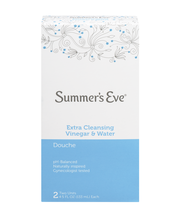 Summer's Eve Extra Cleansing Vinegar & Water 4.5 Oz Units Dou...