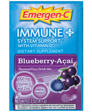 Emergen-C® Blueberry-Acai Immune Plus® System Support with Vi...