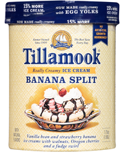 Tillamook® Banana Split Ice Cream 1.75 qt. Tub