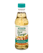 Nakano® Seasoned Basil & Oregano Rice Vinegar 12 fl. oz. Glas...