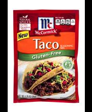 McCormick® Gluten-Free Taco Seasoning Mix 1.25 oz. Packet