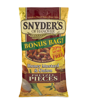 Snyder's Of Hanover Pretzel Pieces Honey Mustard & Onion