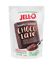 Jell-O® Simply Good Chocolate Instant Pudding Mix 3.9 oz. Pouch
