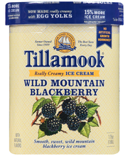 Tillamook® Wild Mountain Blackberry Ice Cream 1.75 qt. Tub