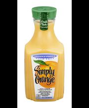 Simply Orange® Pulp Free Calcium & Vitamin D Juice 1.75L Bottle