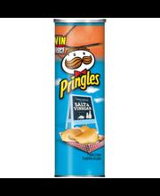 Pringles® Salt & Vinegar Flavored Potato Crisps 5.5 oz. Canister