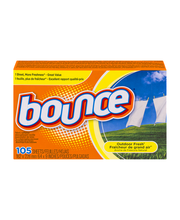 Bounce® Outdoor Fresh® 4 in 1 Fabric Softener Sheets 105 ct Box